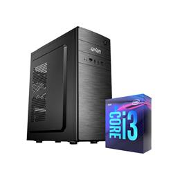 PROMO PC INTEL i3 9100 4GB DDR4 1TB HDMI GABINETE KIT TECLADO Y MOUSE