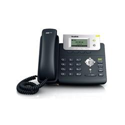 TELEFONO IP YEALINK 2 LINEAS SIN POE CON FUENTE T21