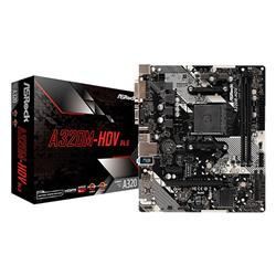 MOTHER ASROCK A320M-HDV R.4.0 M.2 HDMI-DVI-VGA-DDR4-USB 3.0 AM4