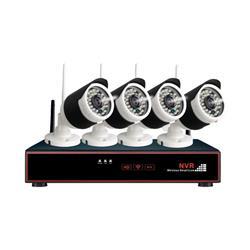 CCTV DVR KIT OVERTECH WI-FI 4 CANAL + 4 CAM. S/DISCO OV-W650/660