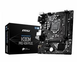 MOTHER MSI H310M PRO-VDH PLUS INTEL VGA-HDMI-DVI-D