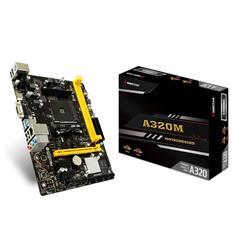 MOTHER BIOSTAR A320MH DDR4 HDMI VGA 3.0 AM4 (A320MH)