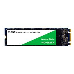 DISCO SSD W.DIGITAL 120GB M.2 2280 SATA 3 GREEN (WDS120G2G0B)